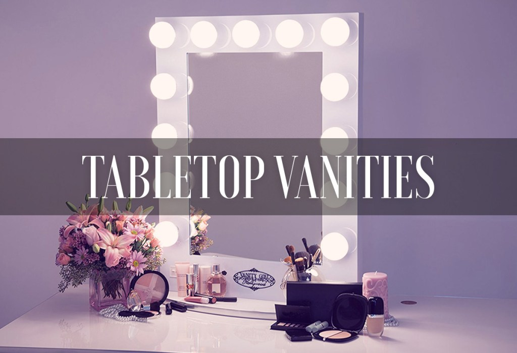 Best Vanity Mirrors With Lights Tabletop Hollywood