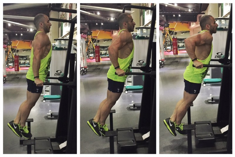 Mirror Friendly Tricep Dips