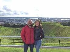 View over Auckland, Mount Eden, North Island