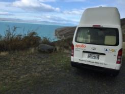 Toyota ass, Lake Pukaki, South Island