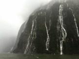 A waterfall orgasm, Milford Sound, South Island