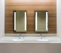 swivel mirror bathroom cabinet