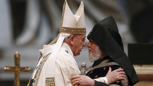 Pope Francis  and Catholicos Karekin II