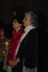 Barbara Tellalian and Dr. Carolann Najarian