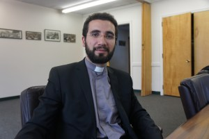Dean of the Gevorkian Seminary Fr. Garegin Hambardzumyan
