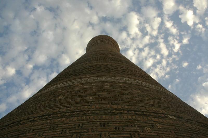 DSC_4871 Uzbequistan, Bukhara, Central Asia, silk road, ruta seda, Kalyan minaret, minarete de Kalyan