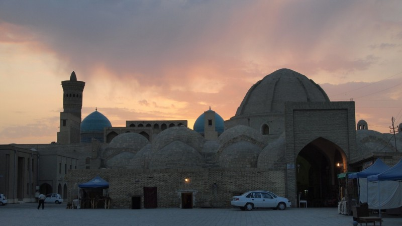 PA063728  Uzbequistan, Bukhara, Central Asia, silk road, ruta seda, Kalyan minaret, minarete de Kalyan