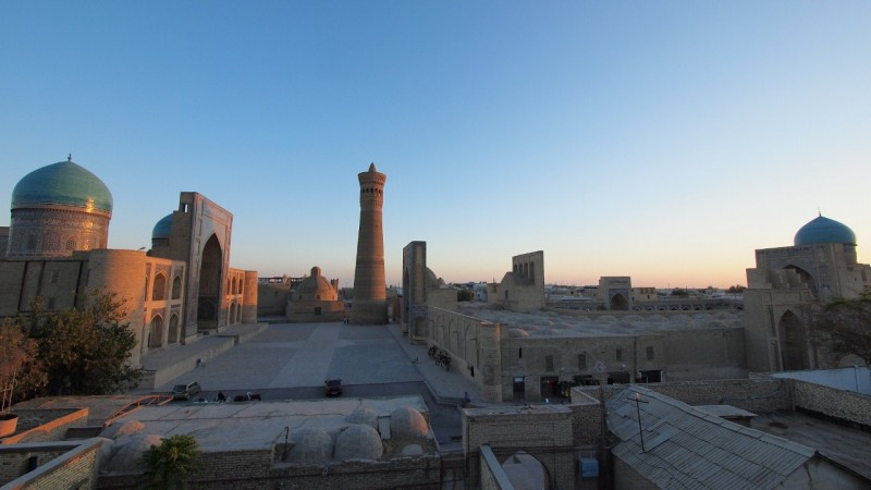 PA083866  Uzbequistan, Bukhara, Central Asia, silk road, ruta seda, Kalyan minaret, minarete de Kalyan