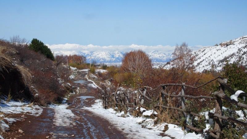 PA244384 Kyrgyzstan, Kirguistán, Central Asia, ruta seda, silk road, Issyk-Köl, Tamchy, Altyn Arashan
