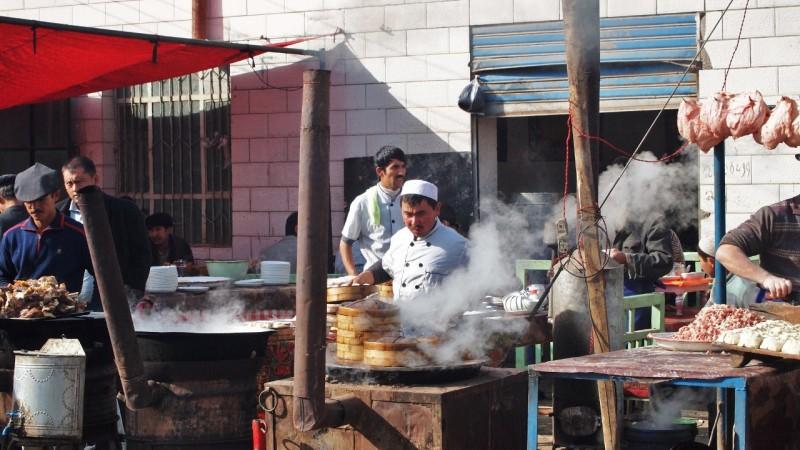 PB075020 Kashgar, Xinjiang, silk road, ruta seda, oasis, Uygur