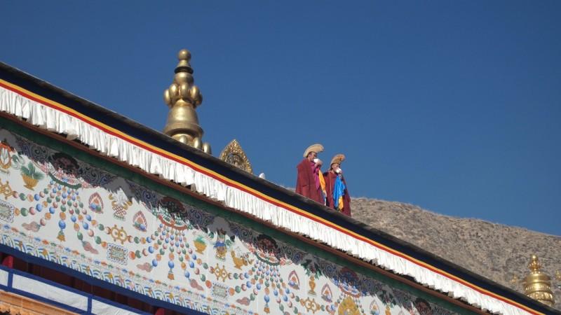 PB216041 Labrang, Xiahe, Buddish, monasterio, monastery, Tibet, China
