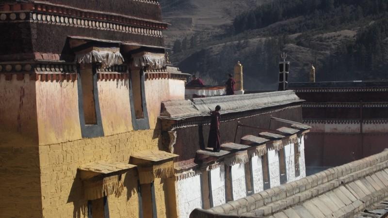 PB216065 Labrang, Xiahe, Buddish, monasterio, monastery, Tibet, China