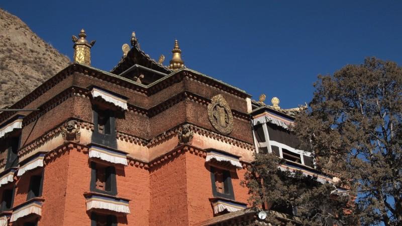 PB216081 Labrang, Xiahe, Buddish, monasterio, monastery, Tibet, China