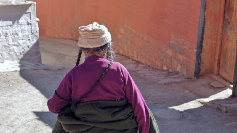 PB216128 Labrang, Xiahe, Buddish, monasterio, monastery, Tibet, China