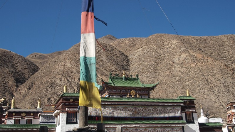 PB216154 Labrang, Xiahe, Buddish, monasterio, monastery, Tibet, ChinaLabrang, Xiahe, Buddish, monasterio, monastery, Tibet, China