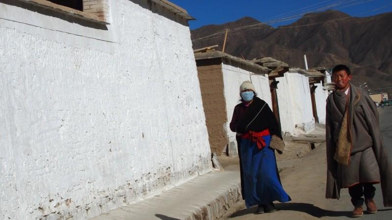 PB216168 Labrang, Xiahe, Buddish, monasterio, monastery, Tibet, China