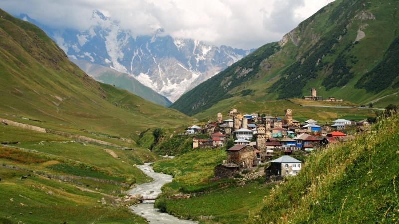 Silk Road, ruta seda, Svaneti, Ushguli