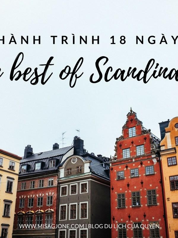"""Lịch trình du lịch Bắc Âu 18 ngày """"The best of Scandinavia"""""""
