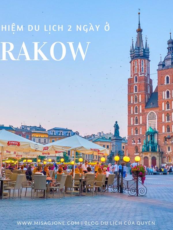 Kinh nghiệm du lịch Krakow trong 2 ngày
