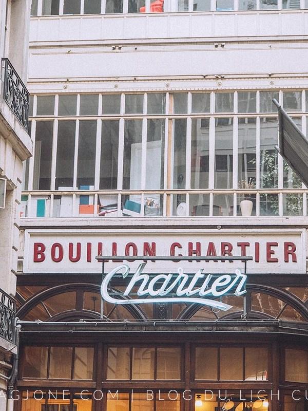 Review nhà hàng Bouillon Chartier, Paris