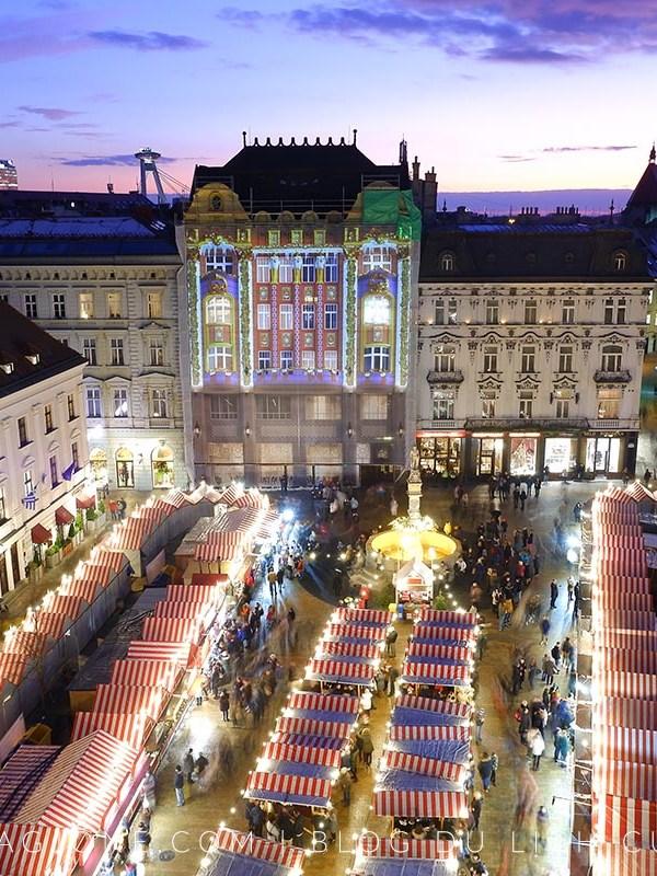 Chợ Giáng Sinh Bratislava có gì dzui?