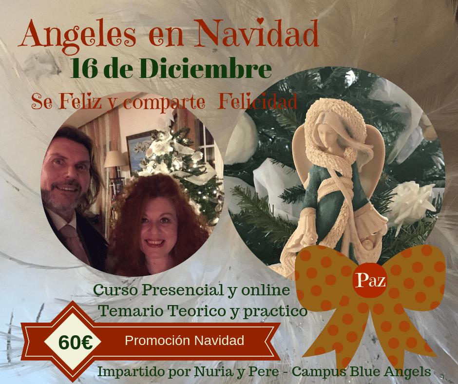 Curso Presencial y Online Ángeles en Navidad