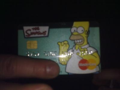 Mastercard Simpson