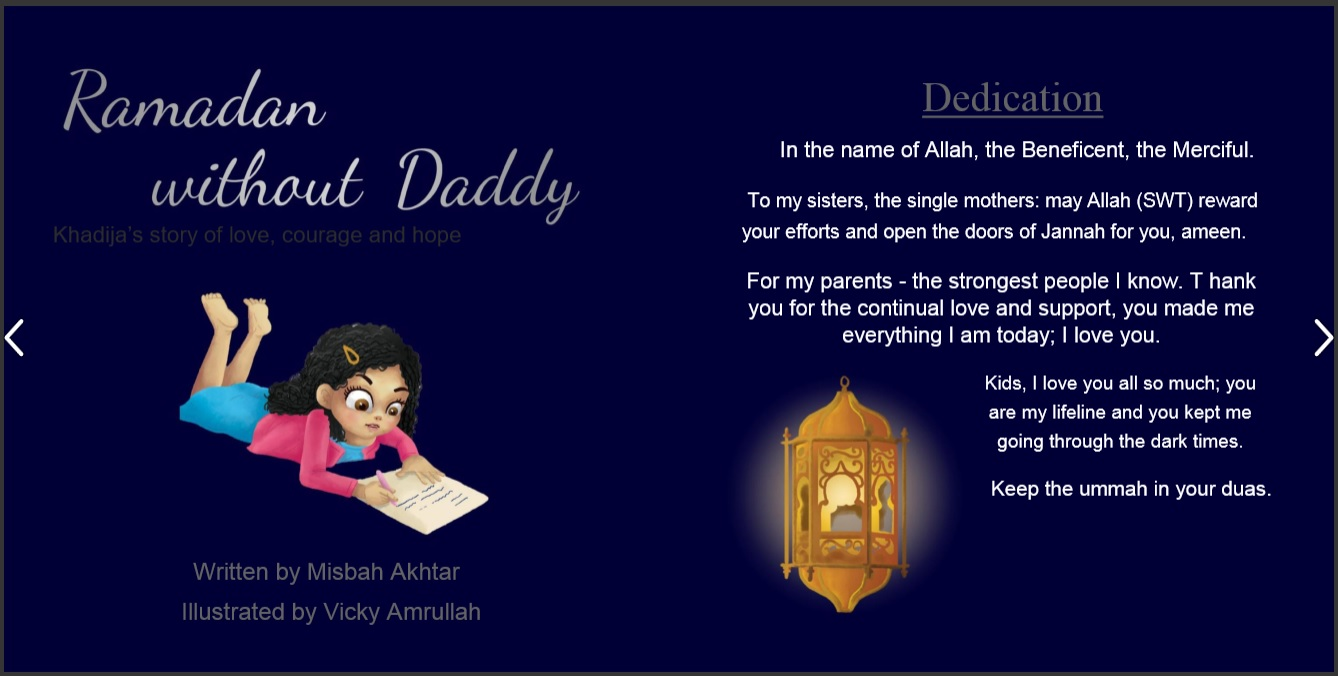 Book: Ramadan Without Daddy