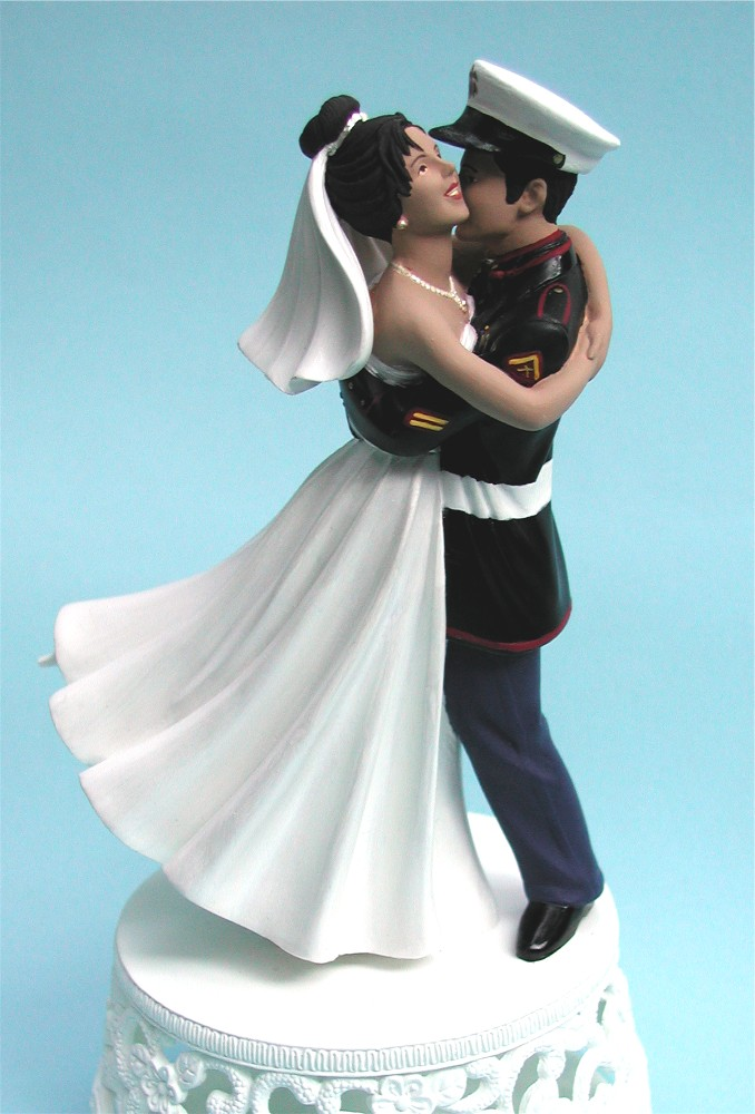 Unique For Marine Wedding Cake Toppers Chocolate Recipes