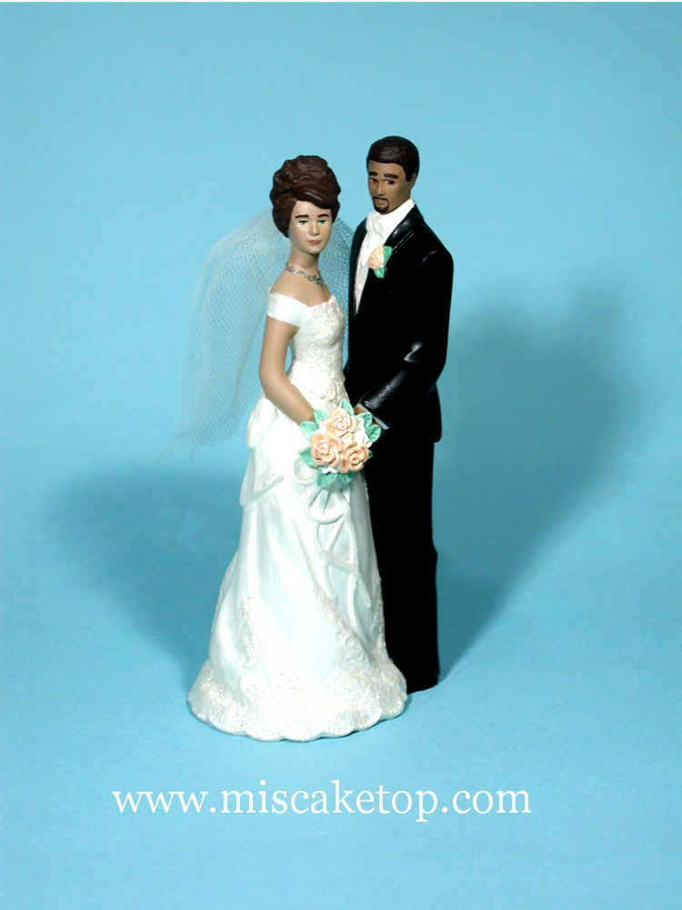 Examples Of Flesh Skin Tone Changes Wedding Cake Toppers