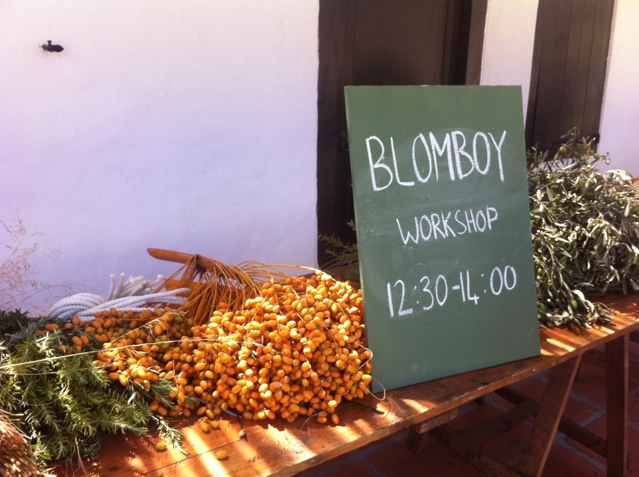 The Blom Boy at Spier Werf Market