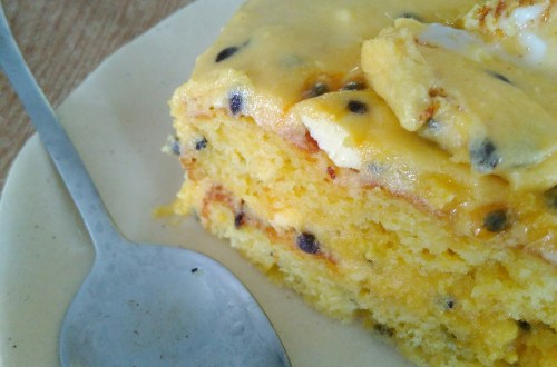 Granadilla cake recipe