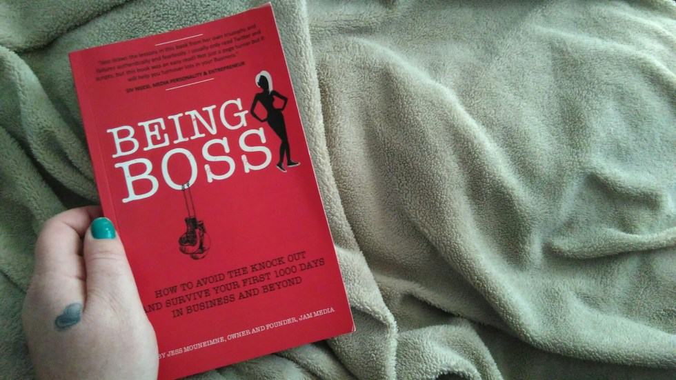 Being Boss by Jess Mouneimne