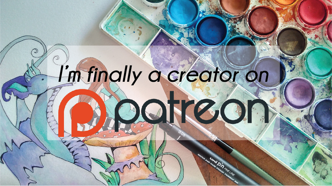 I'm officially on Patreon!