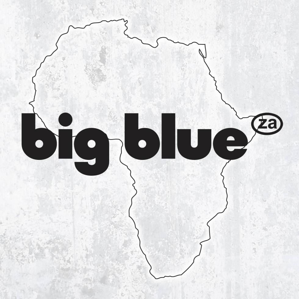 It's big and um blue… It's big blue!