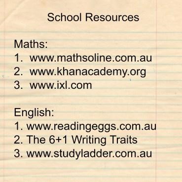 schoolresources