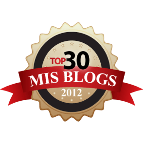 Best MIS Blogs 2012
