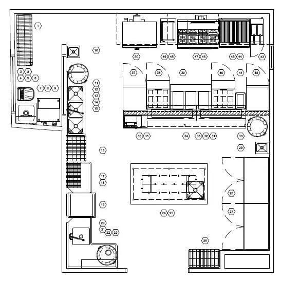 Restaurant Kitchen Layout Approach Part 1  Mise Designs