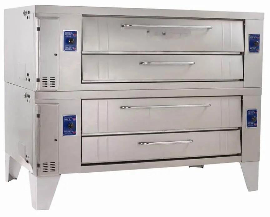 deck pizza display oven