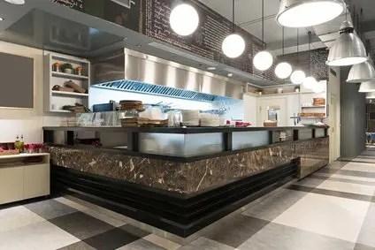 Display Restaurant Kitchen