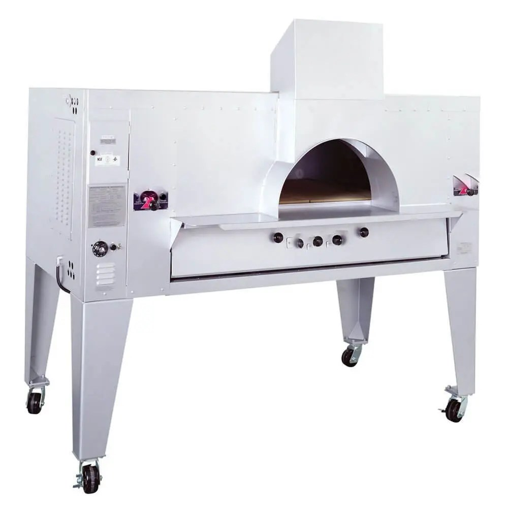 stone deck pizza display oven