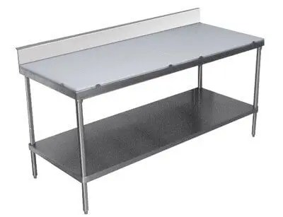 commercial kitchen worktables poly-top