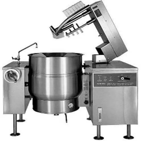 extra large capacity industrial commercial kitchen steam kettle