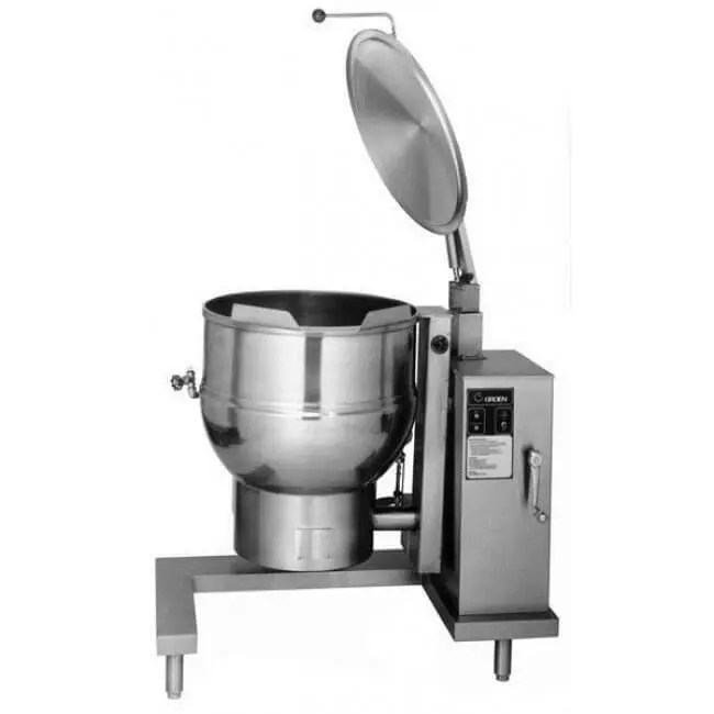 tilting medium volume commercial kitchen steam kettle