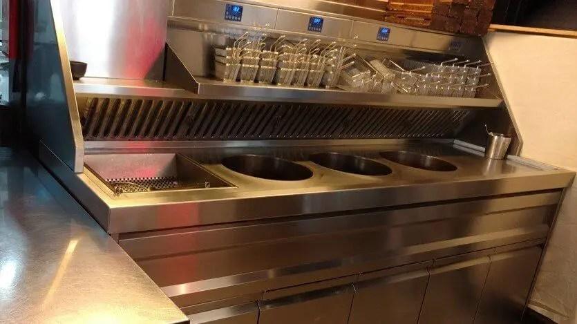 Restaurant Kitchen Deep Fat Fryer