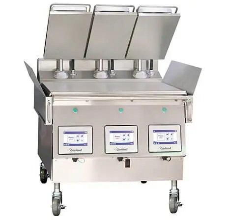 heavy duty double sided griddle
