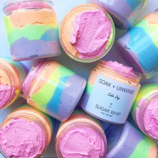 soak and unwind cake soap