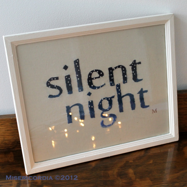 Silent Night by Misericordia 2012