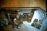 Ripon Cathedral Ripon Minster Yorkshire 15th century medieval misericords misericord misericorde misericordes Miserere Misereres choir stalls Woodcarving woodwork mercy seats pity seats Ripon s15x.jpg
