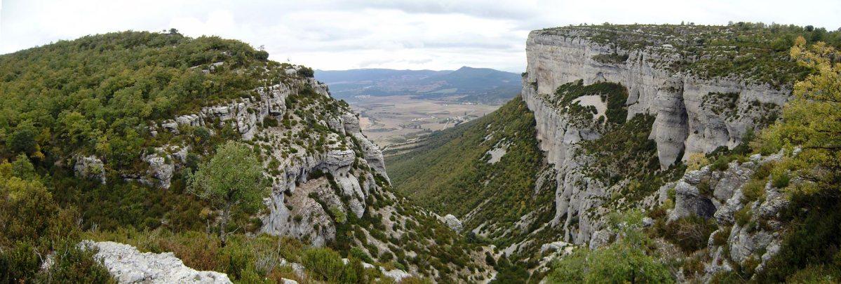 Sierra de Lokiz panorámica